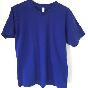 American Apparel blue Tshirt large